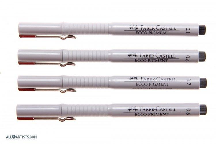 Faber-Castell Ecco Pigment Liner Pen / Drawing Faber Castel - Best ...