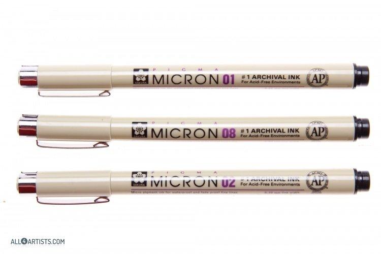 sakura pigma micron pens drawing inni best european art materials