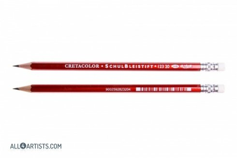 Cretacolor School pencil with rubber
