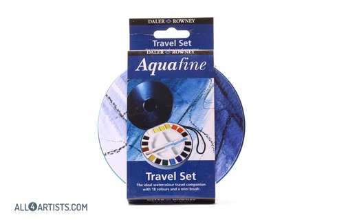 Daler Rowney Aquafine Travel set 18 pcs
