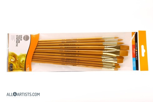 Simply gold taklon synthetic brushes set