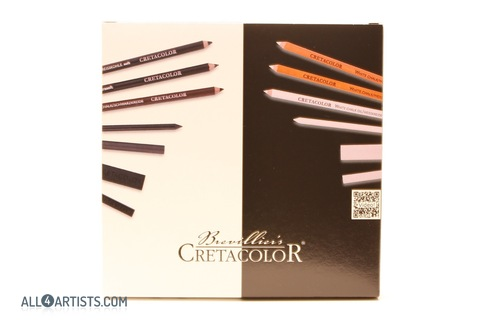 Black & White Drawin Set 25 pcs Cretacolor
