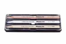 Cretacolor Set of 4 monolith pencils