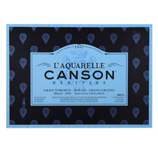 Canson Heritage Watercolor Paper Pad Rough Grain