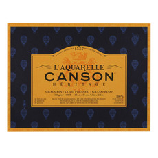 Canson Heritage Watercolor Paper Pad Cold Pressed