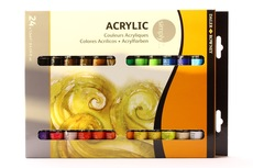 Daler Rowney Simply Acrylic Set 24x12ml