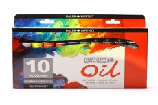 Daler Rowney Graduate Oil 10x38ml-set
