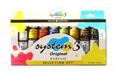 Daler Rowney System 3 8x75ml set