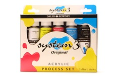Daler Rowney System 3 5x75ml Process set