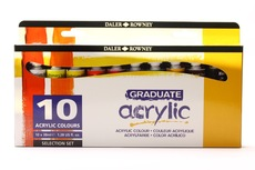 Daler Rowney Graduate Acrylic Selection Set 10x38ml