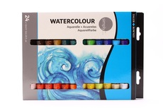 Daler Rowney Simply Watercolour Set 24x12ml