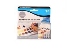 Simply Watercolour Pocket Set 12 pcs