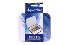 Daler Rowney Aquafine Travel set 24 pcs