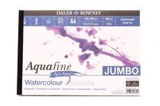 Aquafine Watercolour Texture Jumbo Paper Pad