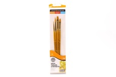 Simply gold taklon synthetic 4 brushes set