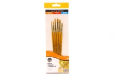 Simply gold synthetic 6 brushes set