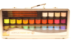 Acrylic Paint Set 40 pcs Simply Daler Rowney in metal case