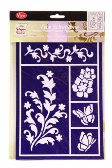 Flexible stencils Viva Decor