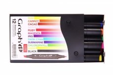 Graph'it 12 Marker Set classic colors