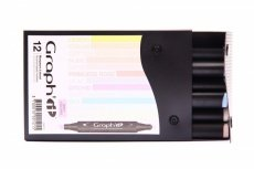 Graph'it 12 Marker Set light colors