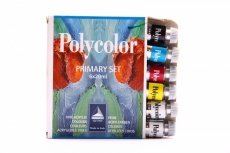 Maimer Polycolor primary cardboard box 6x20ml