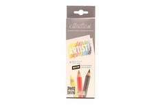 Artist studio MEGA Graphite and Neon pencils